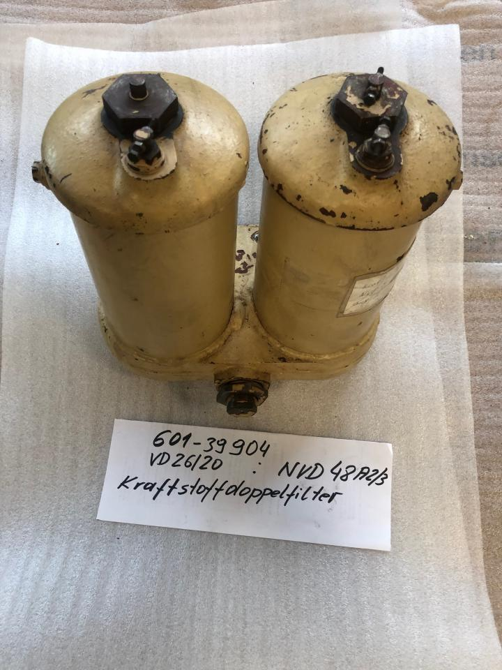 Fuel Double Filter for NVD 48 A2/A3 U Part No 601-39904 used, in good condition, dismantled from running engine side