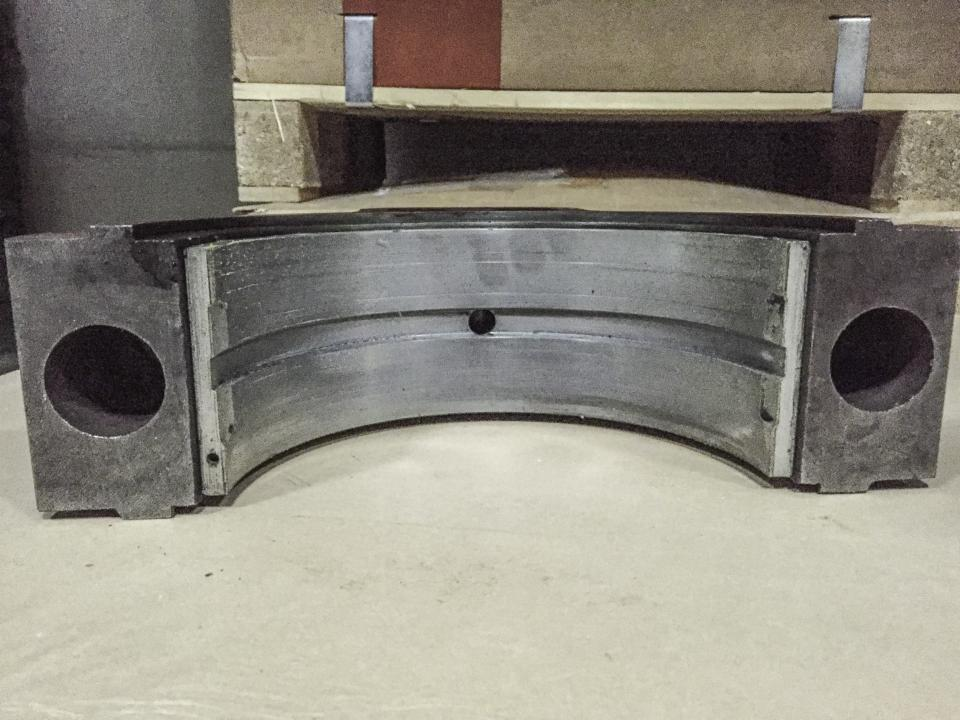 Thrust Bearing Cover NVD 48 bottom