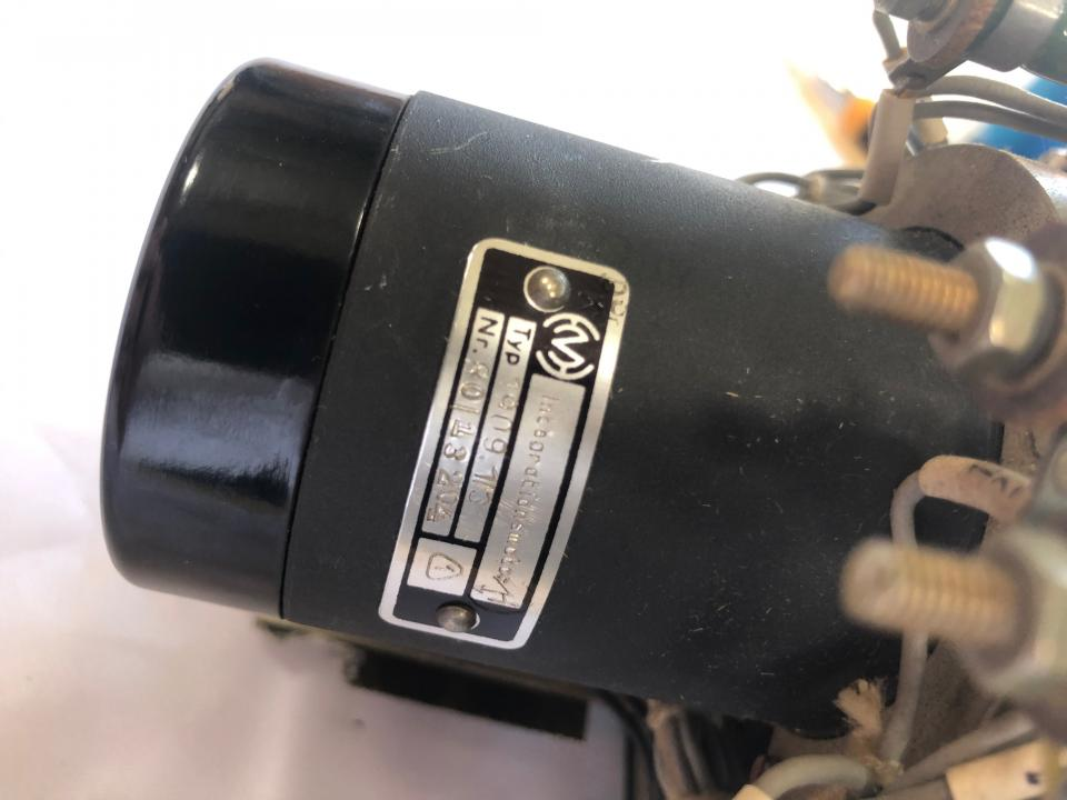 Control Unit incl. Integration motor 1909.1/3 and Trafo D-TGL 14120 for Governor controlling at SKL NVD engines e.g. 26/20 and 48 A2/A3_Nameplate