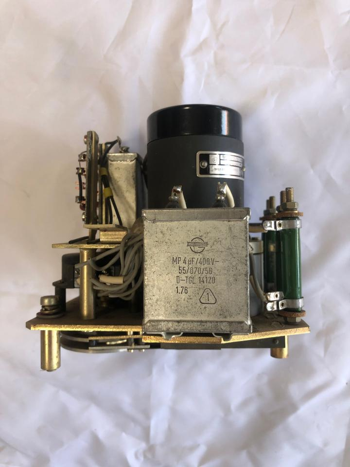 Control Unit incl. Integration motor 1909.1/3 and Trafo D-TGL 14120 for Governor controlling at SKL NVD engines e.g. 26/20 and 48 A2/A3_side