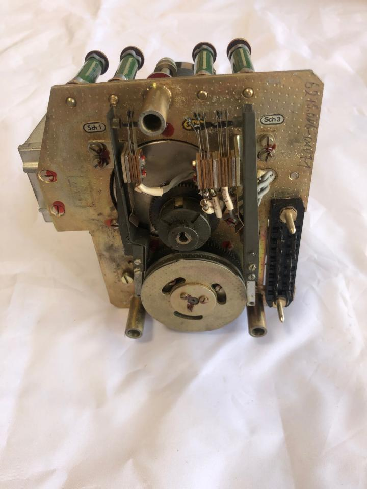 Control Unit incl. Integration motor 1909.1/3 and Trafo D-TGL 14120 for Governor controlling at SKL NVD engines e.g. 26/20 and 48 A2/A3_bottom