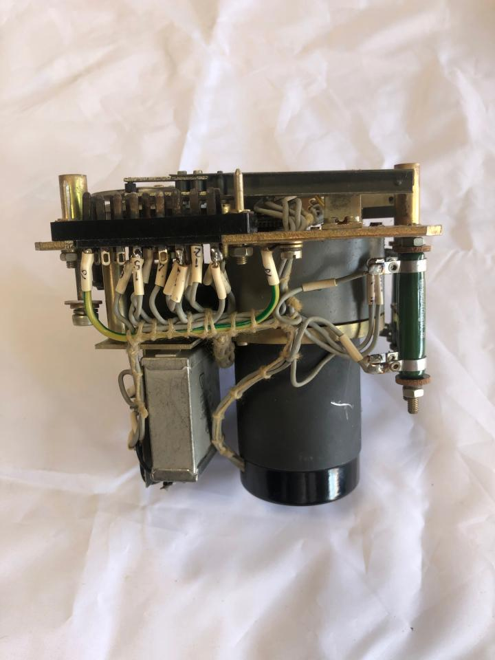 Control Unit incl. Integration motor 1909.1/3 and Trafo D-TGL 14120 for Governor controlling at SKL NVD engines e.g. 26/20 and 48 A2/A3_front