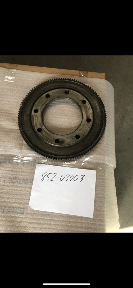 Pump Drive Wheel for Oil pump for NVD 48 A2-A3 U Part No 852-03003, used, in good condition, dismantled from running engine