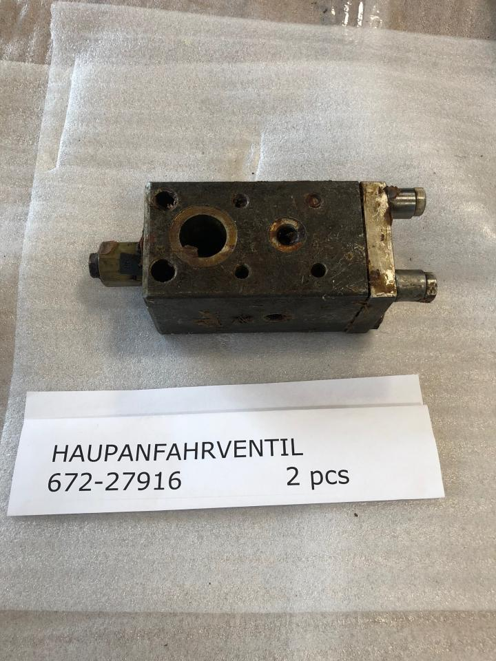 Main starting valve For SKL NVD 36 A1, Part No 672-27916, unused, preserved, in good condition top